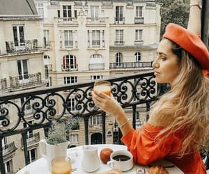breakfast, francia, and parís image
