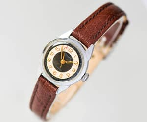 etsy, womens watch retro, and watch for lady image