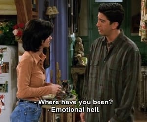 emotions, friends, and hell image