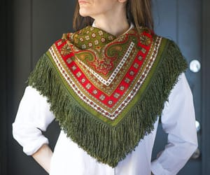 etsy, sustainable fashion, and women's scarf image