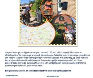 nederland, werk, and post image