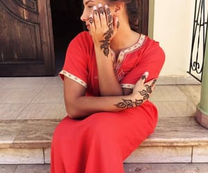 henna, morocco, and oriental image
