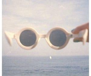 vintage, sunglasses, and summer image