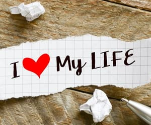 heart, life, and my image