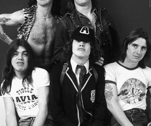 ACDC, band, and quote image