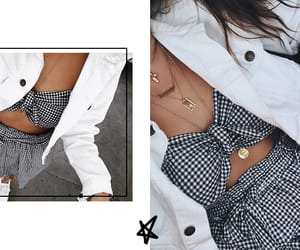 forever 21, gingham, and paper bag shorts image