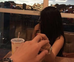 boy, couple, and hands image