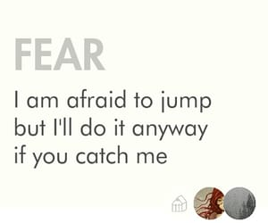 fear, love, and haiku image