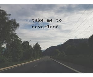 car, forest, and neverland image