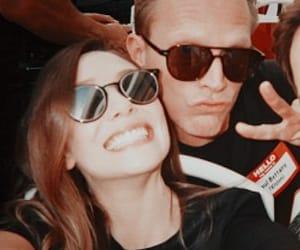 elizabeth olsen, paul bettany, and Avengers image