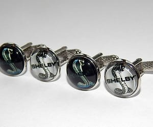 etsy, gift for him, and wedding cufflinks image