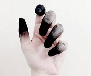 black, hand, and aesthetic image
