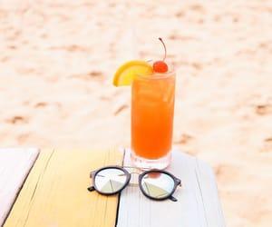 beach, cherry, and shades image