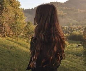girl, hair, and aesthetics image