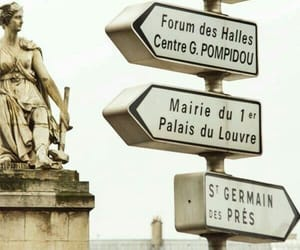 france, sign, and street image