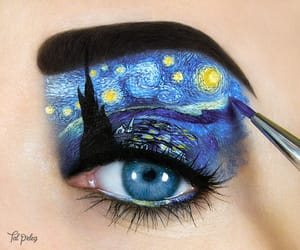 art, make up, and maquillaje image