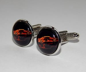 etsy, gift for him, and car cufflinks image