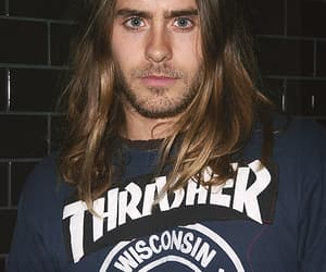 30 seconds to mars, jared leto, and long hair image