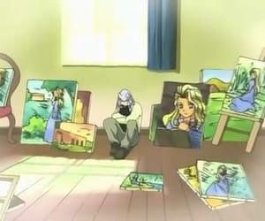 pegasus, sad, and yu-gi-oh! image