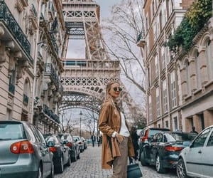 girl, france, and paris image