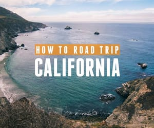 california, backpacker, and Road Trip image