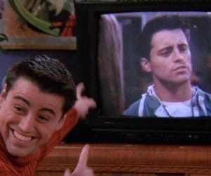 friends, Joey, and joey tribbiani image