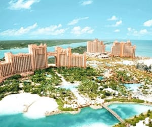 bahamas, beach, and paradise image