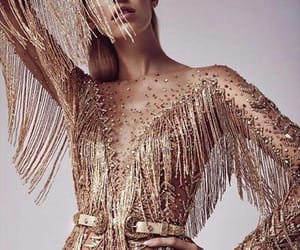 devon windsor, Couture, and golden image