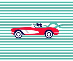 animated, animation, and car image