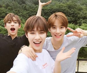 lucas, jungwoo, and kun image