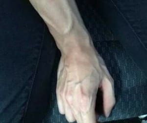 arm, car, and man image