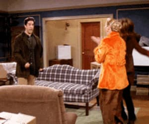 90's, funny, and rachel green image