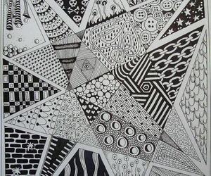 doodles, pattern, and tangle image