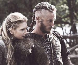 vikings, love, and lagertha image