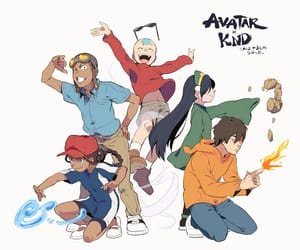 avatar, knd, and cartoon image