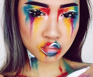 makeup and creative image