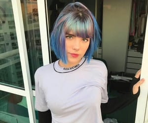 alternative, cabelo, and color hair image