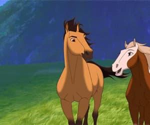 gif, spirit, and stallion of the cimarron image