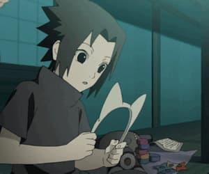 sasuke, uchiha, and anime image
