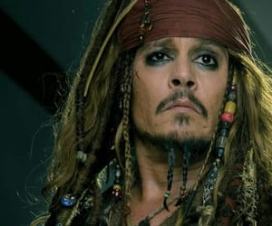 depp, jack sparrow, and pirates des caraibes image