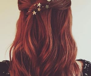 hair, hairstyle, and stars image