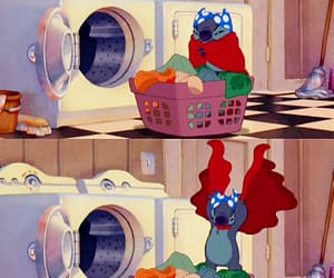 stitch, disney, and funny image