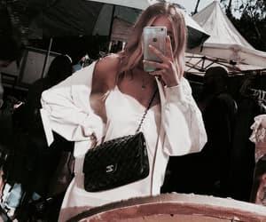 girl, bag, and chanel image