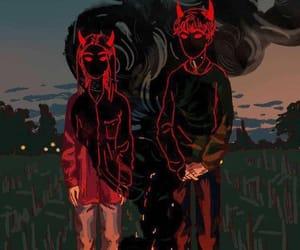 art, netflix, and Devil image