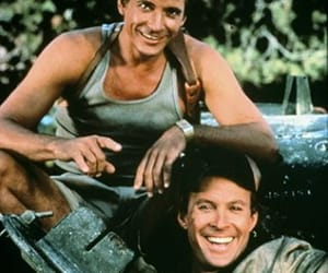 the a team, dirk benedict, and dwight schultz image