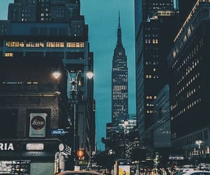 city, travel, and nyc image