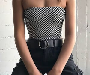 belt, black, and checkers image