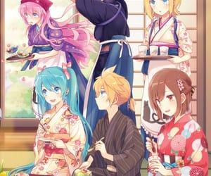anime, kagamine rin, and kaito image
