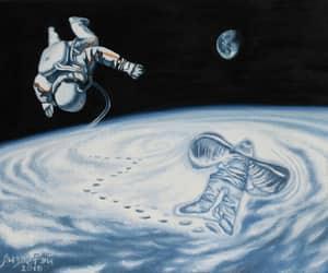 space, детство, and космос image