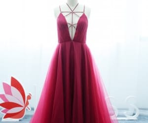 prom dress, tulle, and lunss image